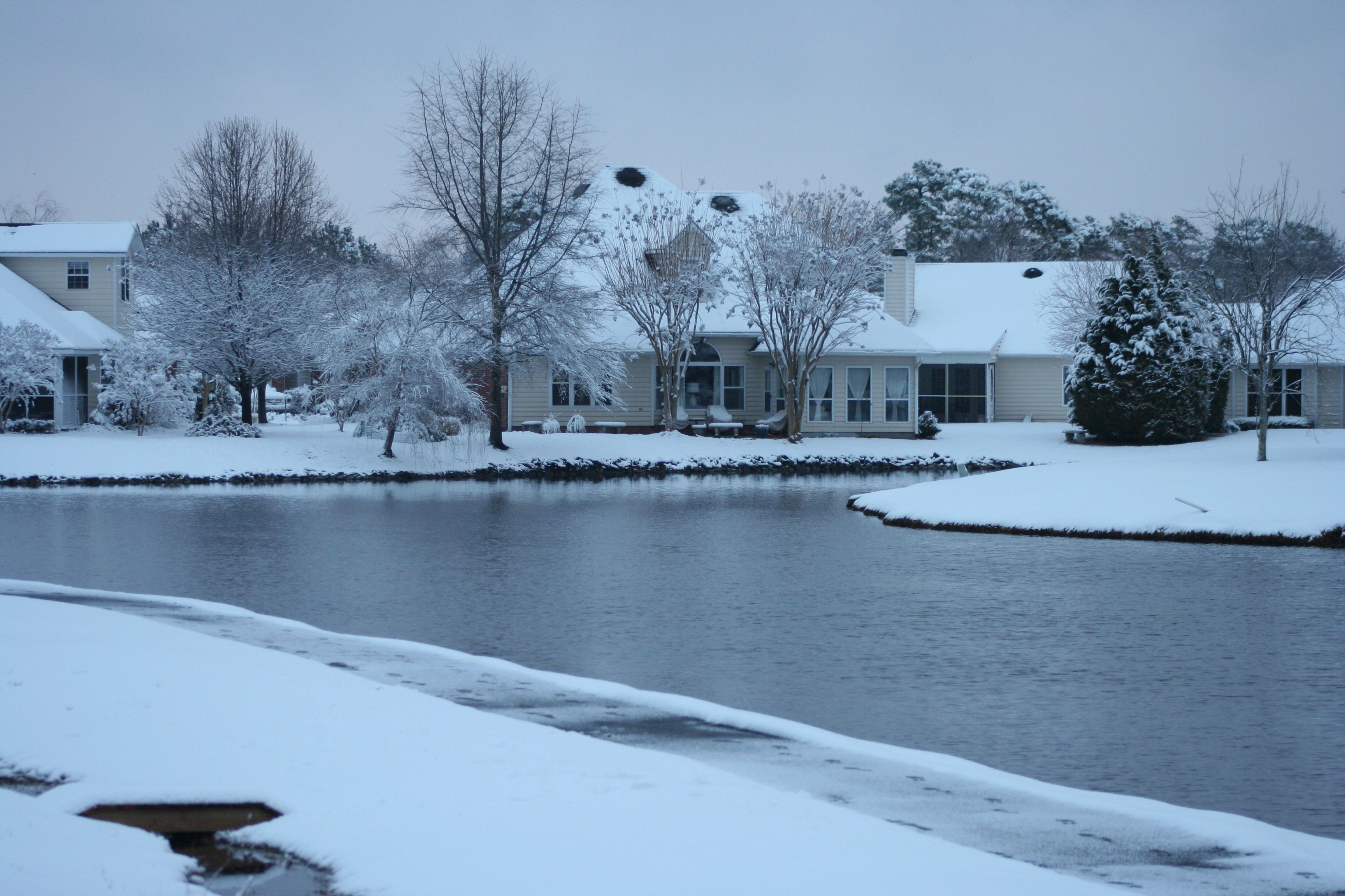 Wilmington Nc Snow Event When Ginger Snaps