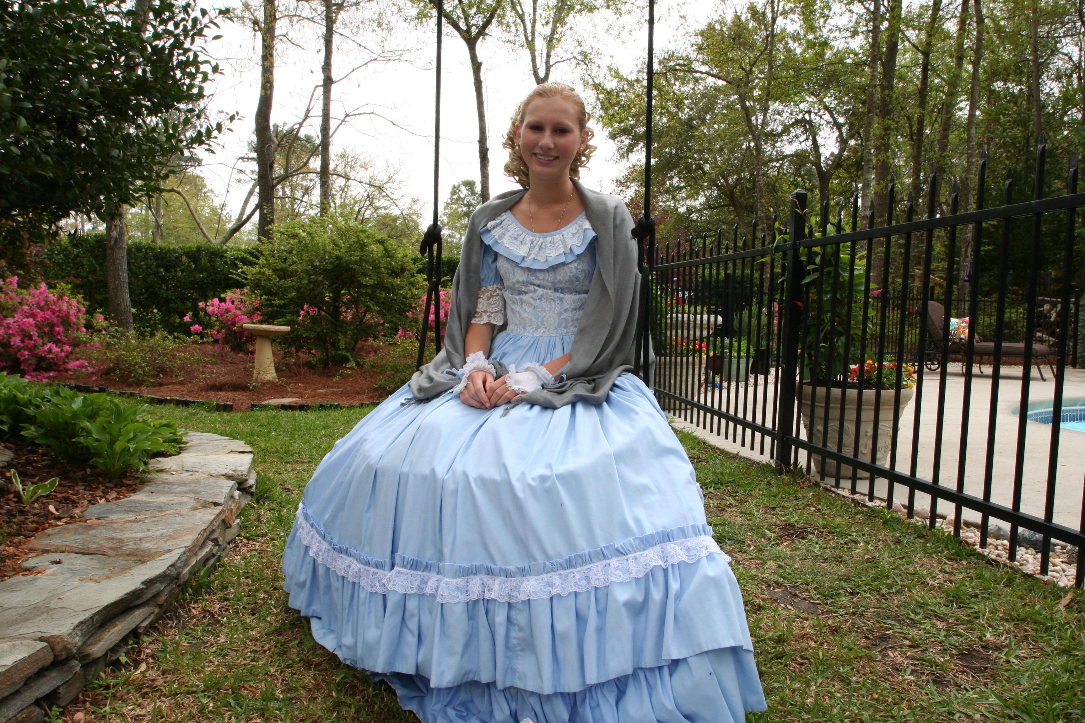 Modern southern belle dresses for Modern house dress